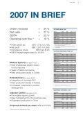 GETINGE AB ANNUAL REPORT 2007 - Alle jaarverslagen - Page 5