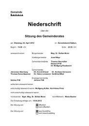 Protokoll vom 24.4.2012 (386 KB) - .PDF - Natters