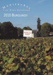 2010 BURGUNDY - Montrachet Fine Wine Merchants