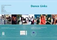 DCMS Dance Links Brochure - Cornwall Healthy Schools
