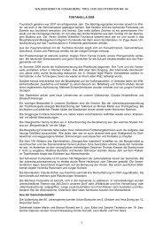 Chronik der Gemeinde Fontanella für das Jahr 2008 - Vorarlberger ...