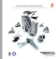 manufacturing companies directory construction, public ... - Anmopyc