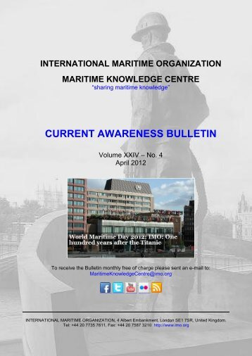 current awareness bulletin - International Maritime Organization