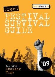 Festival Survival Guide 2009 - Drinksinitiatives.eu
