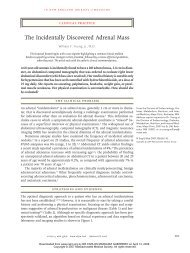 The Incidentally Discovered Adrenal Mass