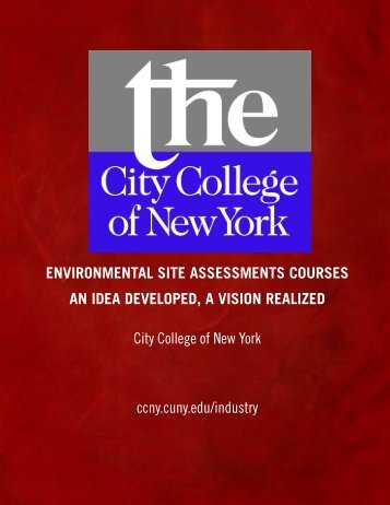 Environmental Site Assessments Courses - The City College of New ...