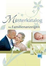Familienanzeigenkatalog zum Download - Wittich Verlage KG