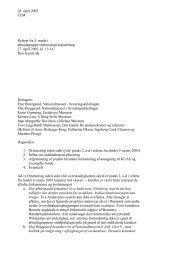 Arbejdsgruppe vedr. registrering og terminologi 27. april 2005