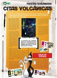 CITAS VOLCÁNICAS - Revista La Central