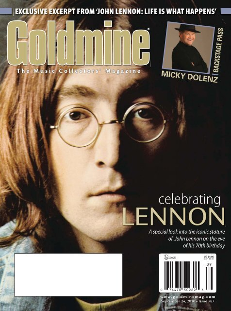 JOHN LENNON THE BEATLES Personalised Handmade Card   All Occasions Birthday Open