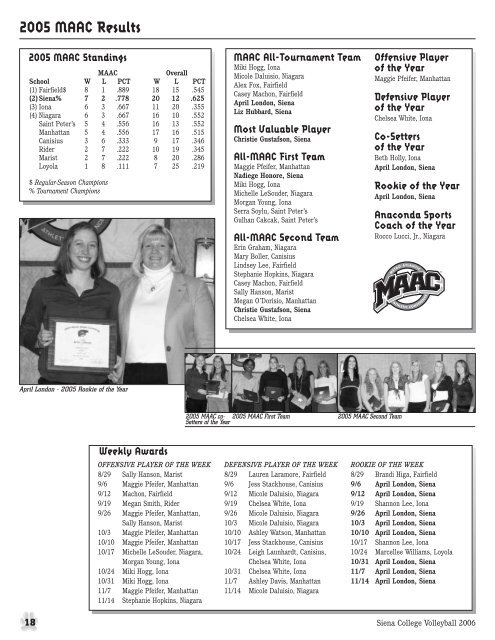 2006 Media Guide - Community