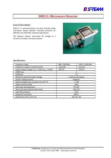 Gjd gjd310 video motion detectors product datasheet dm211 microwave detector datasheet s team lab cheapraybanclubmaster Gallery