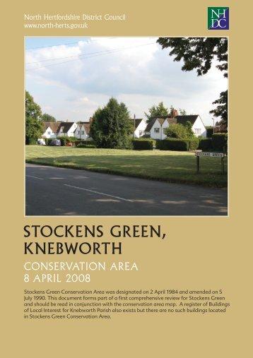 Stockens Green Conservation Area Appraisal - North Hertfordshire ...