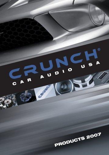 Crunch 2007 - Car Hifi Audio Neuigkeiten und Infos