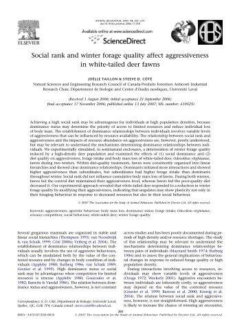 To download the article (PDF) - Chaire de recherche industrielle ...