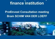 EIB Presentation - Economisti Associati Srl