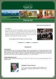 Aktuelle TEEtime als PDF zum Download! - Golfclub Hellengerst