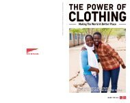 clothing for refugees and - Uniqlo