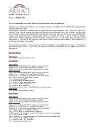 Télécharger l'agenda - Musée départemental Arles antique