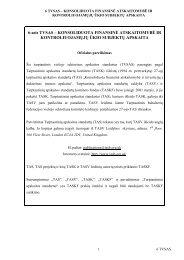 6-asis TVSAS - Finansų ministerija