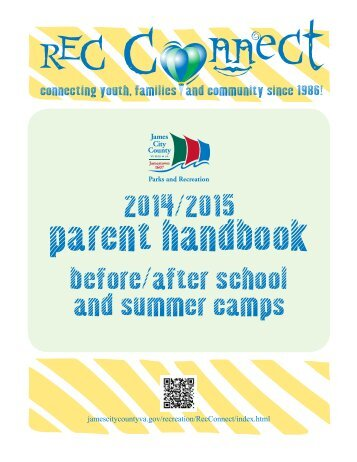 REC Connect Parent Handbook. - James City County