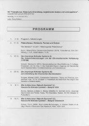 Das Programm (PDF) - Leopold Kohr Akademie