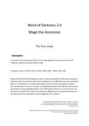 Word of Darkness 2.0 Mage the Ascension