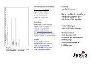 Einladung Herbstakademie - Jusos Bezirk Hannover