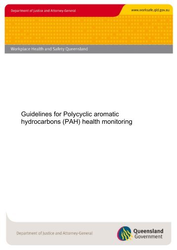 (PAH) health monitoring guidelines - Queensland Government