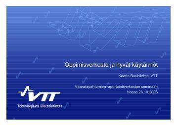 Oppimisverkosto ja hyvät käytännöt - HaiPro