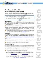Handarbeiten - beim OLZOG Verlag