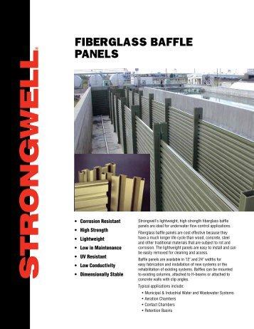 FIBERGLASS BAFFLE PANELS