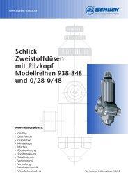 Modellreihe 938-0/48 - Düsen-Schlick GmbH