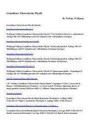 Download Grundkurs Theoretische Physik pdf ebooks by Nolting ...