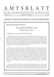 Aktuelles Amtsblatt (15.7.2013) - Das Evangelische Zentrum