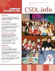 Volume 5, numéro 4, décembre 2004 - Commission scolaire de Laval