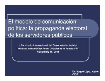 Material de apoyo - Tribunal Electoral del Poder Judicial de la ...