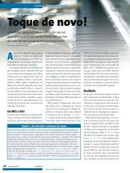 Toque de novo! - Linux Magazine