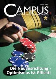Die 1. Ausgabe 2012 - Campus