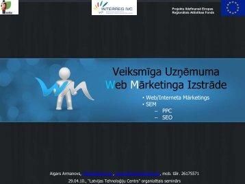 Web Marketing - EVITA