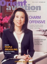 CHARM OFFENSIVE - Orient Aviation