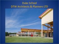 the Duke School in Durham, NC - WoodWorks