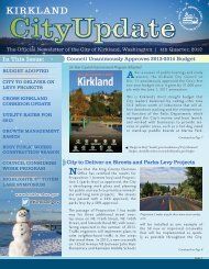 4 - City of Kirkland