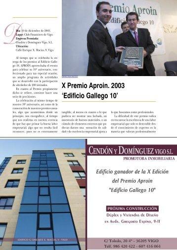Artículo sobre la 10ª Edición 2.003 (2) (PDF, 1.12 MB) - Aproin