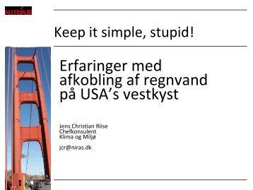 Keep it simple stupid - Vand i Byer