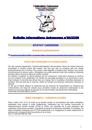 Bulletin informations Autonomes n°04-2009 - EveryOneWeb