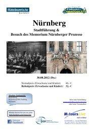 08 30 Reiseprogramm Nürnberg