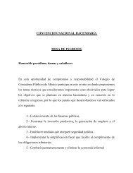 CONVENCION NACIONAL HACENDARIA MESA DE ... - Indetec
