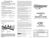 Snowsport ATV Instructions - CatalogRack.com
