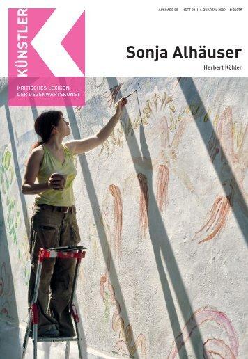 Sonja Alhäuser - Weltkunst